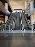 Escalator At Sky Harbor Airport. royalty free stock image