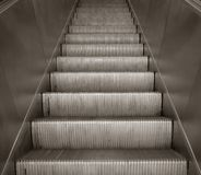Escalator staircase Royalty Free Stock Images