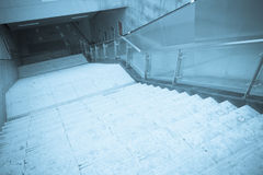 escalator and staircase Royalty Free Stock Photography