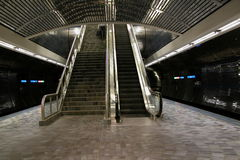 escalator stairs Στοκ Εικόνα