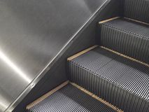 Escalator stairs Royalty Free Stock Photos
