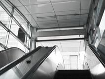 Escalator stairs Royalty Free Stock Photography