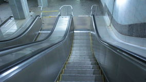 Escalator stairway stock video footage