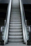 Escalator.  Stairway to your carrier Royalty Free Stock Photos