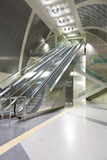 Escalator at Station Heumarkt in Cologne royalty free stock image