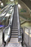 Escalator at Station Heumarkt in Cologne royalty free stock photos