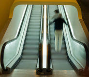 Escalator at Stedelijk Museum Stock Photo