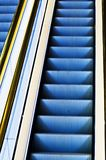 Escalator steps Royalty Free Stock Photos