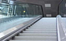 Escalator steps Stock Photo