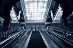 Escalator subway stock images