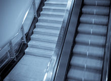 escalator in subway Royalty Free Stock Image