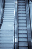 escalator in subway Stock Images