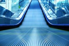Escalator of the subway station. In hongkong china Stock Photography