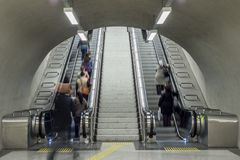 Escalator Royalty Free Stock Photos