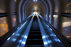 Escalator taken at the Umeda Sky Building Royalty Free Stock Photography