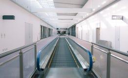 Escalator at terminal airport Japan Stock Images