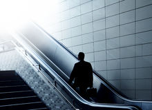 Escalator to heaven Stock Photo