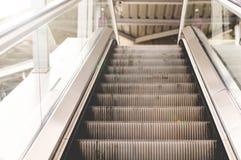 Escalator To Sky Train Station. Escalator Path, The Way To Sky Train Station Stock Photos