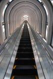 Escalator tunnel Stock Photography