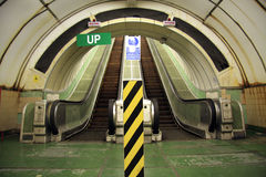 Escalator Up And Down Stock Photo
