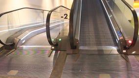 Escalator stock video