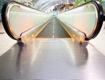 Escalator vide Photo libre de droits