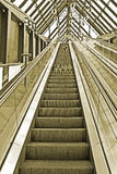 Escalator vision Stock Photo