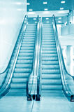 Escalator vision Royalty Free Stock Image