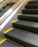 Escalator. Which take people to go to the next level or go down Royalty Free Stock Photography
