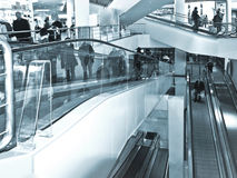 Escalators. Royalty Free Stock Image