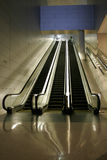 Escalators Image stock