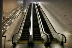 Escalators Photo libre de droits