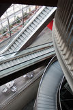 Escalators 2 Royalty Free Stock Photos