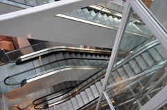 Escalators Royalty Free Stock Images