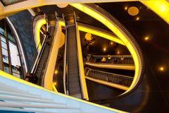Escalators Royalty Free Stock Photo