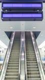 Escalators Image libre de droits