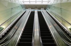 escalators Images stock