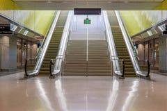 escalators Photos stock