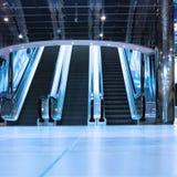 Escalators Images libres de droits