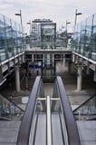 escalators imagens de stock royalty free