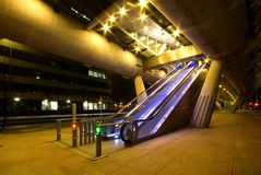 Escalators Stock Photography