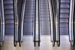 Escalators Stock Image