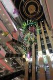 Escalators and elevators in the mall Stock Image