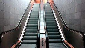 Escalators stock footage