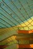 Escalators intérieurs Photos libres de droits