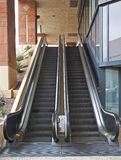 Escalators in motion Royalty Free Stock Images