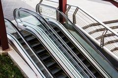 Escalators outside Royalty Free Stock Images
