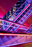 Escalators in a shopping center Stock Photography