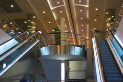 Escalators and stairs Stock Photography