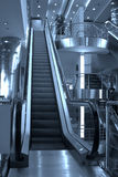 Escalators and stairs ,Domoded Stock Image